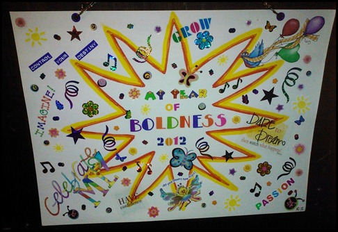 My Year of Boldness by Karen C