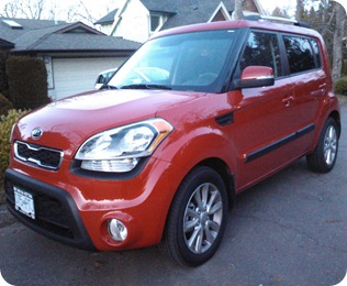 Suzy, the Molten Red 2012 Kia Soul