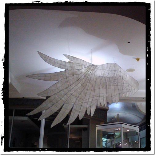 wings in the hall